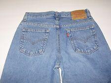 Levi's 505 Slim Fit Straight Leg Women's Blue Denim Jeans Size 6