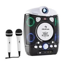 [RECONDITIONNÉ] auna Kara Projectura Lecteur karaoké projecteur lumière LED + 2