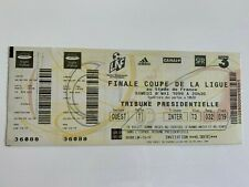 FRANCE TICKET FFF - Finale COUPE DE LA LIGUE 1999 - RACING CLUB LENS / FC METZ