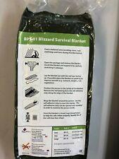 Blizzard BPS-01 Survival Blanket Green 6532-01-524-6932