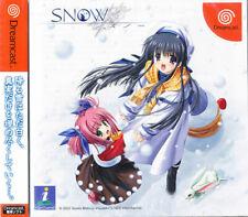 SNOW Sega Dreamcast Japan Import  NEW    US SELLER