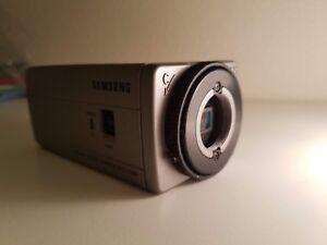 Lot of 5 - Samsung SCC-130B Indoor CCTV Box Security Camera Surveillance NO LENS