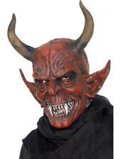 Smiffys careta de demonio para la cabeza Látex Halloween