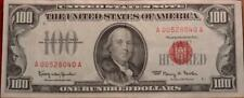 1966 U.S. Red Seal $100 Circulated Note