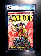 COMICS: Marvel: Warlock #10 (1975), 1st In-Betweener/Thanos's origin - CGC 9.0