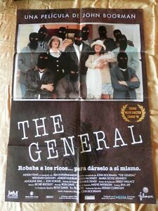 POSTER CARTEL ORIGINAL PELÍCULA: THE GENERAL MARIA DOYLE KENNEDY