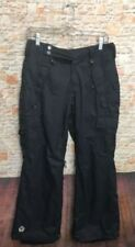 Sessions Terrain Series Women's Sz Small Lucky Pant Snowboard Pants Black cargo