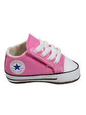 Converse Baby Kinder Schuhe CT All Star Cribster Mid Rosa Leinen Größe 20 EU