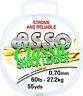 Asso 60lb clasic  shock leader yellow
