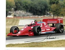 Autographed Mario Andretti CART Indy Car Racing Photograph