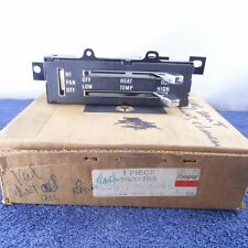Nos Heater Control Assembly 1973-1976 Dodge Dart Plymouth Valiant Mopar 3502783