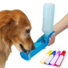 Pet Dog Water Bottle 250ml Portable Drinking Bottle Travel Outdoor Feeder Bowl