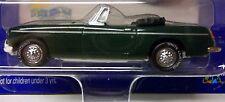 MGB 1969 British Racing Green WHITE LIGHTNING MODEL Black RHD Inside 1:63 MG MGB