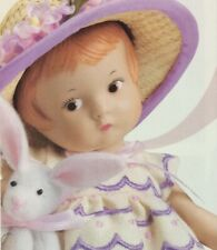 Effanbee Patsyette Bunny Best 9� Doll With Hat And Rabbit New In Box
