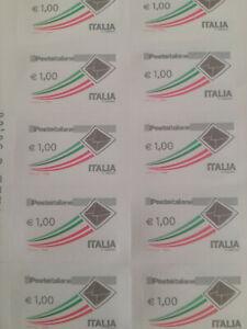 Francobolli autoadesivi per affrancare sottofacciale tot. 82 euro vari importi