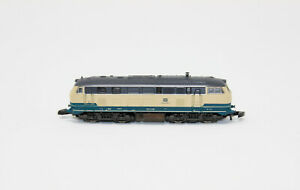 Z Scale Marklin 8878 DB 218 438-0 Cream & Blue Diesel Locomotive