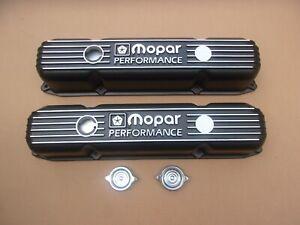 NEW Mopar Performance 361 383 400 413 440 Big Block Cast Aluminum Valve Covers