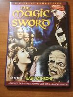 The Magic Sword (DVD) Basil Rathbone, Gary Lockwood, Sybil...13