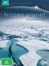 Frozen Planet, 2011 Documentary; David Attenborough (DVD 3- Disc Set)(D165)