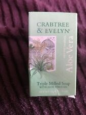 CRABTREE & EVELYN, VINTAGE Aloe Vera Soap new and unused