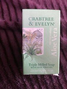 CRABTREE & EVELYN, VINTAGE Aloe Vera Soap new and unused