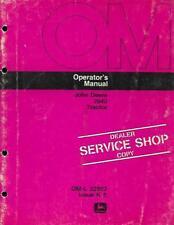 John Deere 2840 Tractor Operators Manual