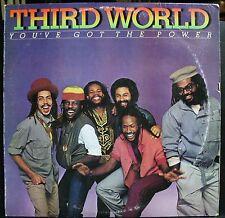 VINYL RECORD ALBUM SOUL FUNK LP THIRD WORLD YOU'VE GOT THE POWER