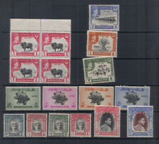 Bahawalpur Small unmounted mint collection