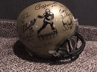 Autographed Heisman Trophy Helmet Signed by 12 Winners