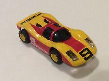 Vintage Tyco #9 Porsche Slot Car Runs LQQK Minty