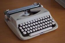 Vintage Retro Portable Lemair Typewriter White colour, Made in Japan, VGC, Rare