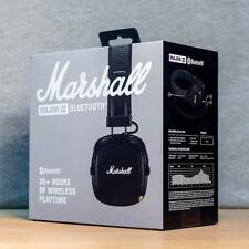 BNIB Marshall Major 3 Major III Bluetooth Headphones with Mic headset / Black