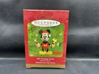HALLMARK KEEPSAKE ORNAMENT MICKEY MOUSE BELL RINGING SANTA