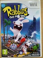 Rabbids Go Home Nintendo Wii Alien Rabbits Video Game