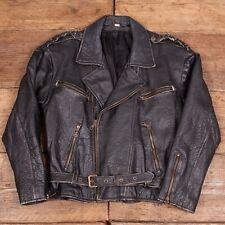 Vintage pour homme perfecto cuir style perfecto noir s 36 R642