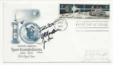 Apollo 15 Crew Signed First Day Cover w/ Loa