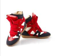 Fashion Women's Athletic High-Top Sneakers Shoes Hidden Wedge Casual Shoes Size