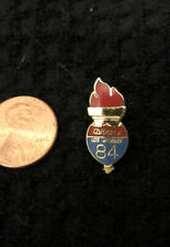 1984 Olympics CalTrans Torch Promotional Pin