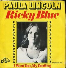 7inch PAULA LINCOLN ricky blue HOLLAND IVERY TOWER REC EX
