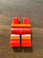 Lego Scooby Doo Velma Dinkley Mnifigure Legs Only; Rare excellent condition