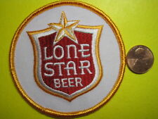 BEER PATCH LONE STAR BEER PATCH SMALL CIRCLE SIZE LOOK AND BUY NOW! TEXAS BREW!!
