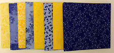 Sunny Delight Fat Quarter Bundle Fabri-Quilt 100% Cotton 8 Pcs New Fabric 16596