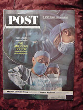 Saturday Evening POST June 15 1963 DOCTORS JEAN SEBERG +++