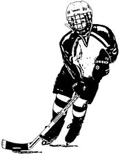 Unmounted Rubber Stamps, Sports Stamps, Hockey Player, Puck, Ice Hockey, Skating