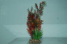 Plantas De Acuario Piedra Base 10cm base y 30 cms de alto de color rojizo
