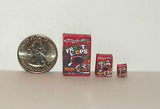 Dollhouse Miniature Food Breakfast Cereal 1:24 inch scale fl E83 Dollys Gallery
