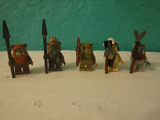 LEGO Star Wars 10236 EWOK Set Of 5 Minifigures Figures Teebo Wicket Logray