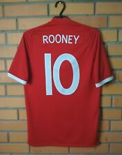 England Away football shirt #10 Rooney 2010-2012 size 38 jersey soccer Umbro