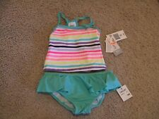 New Carter's Infant Toddler Girl 2pc Swim Suit Bathing Suit Size 18 months Nwt