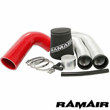 Saxo VTS & Pug 106 GT RAMAIR Cone Induction Air Filter Kit c/w Red Silicone Hose